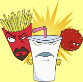 Showing 2 Aqua Teen Hunger Force Colon Movie Film for Theaters