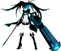 Showing 2 Black Rock Shooter